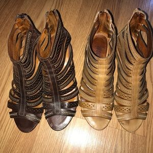 Pikolinos bundle leather gladiator sandals 38 8